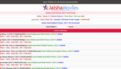 What Jalshamovies.net website looked like in 2017 (3 years ago)