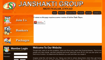 What Jsigroup.co.in website looked like in 2018 (3 years ago)