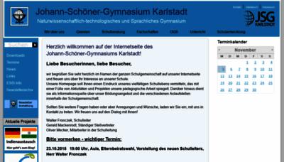 What Jsg-karlstadt.de website looked like in 2018 (2 years ago)