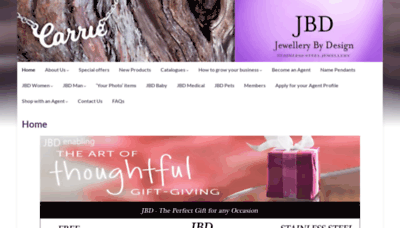 What Jbdshop.co.za website looked like in 2019 (2 years ago)