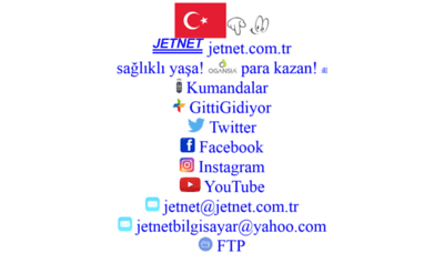 What Jetnet.com.tr website looked like in 2019 (2 years ago)