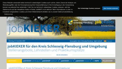 What Jobkieker.de website looked like in 2019 (1 year ago)
