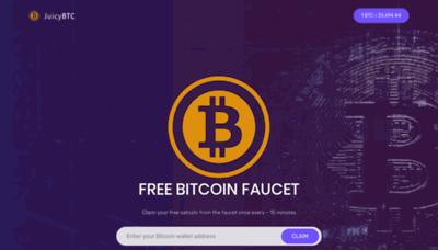 What Juicybtc.net website looked like in 2020 (1 year ago)