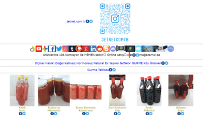 What Jetnet.com.tr website looked like in 2020 (1 year ago)