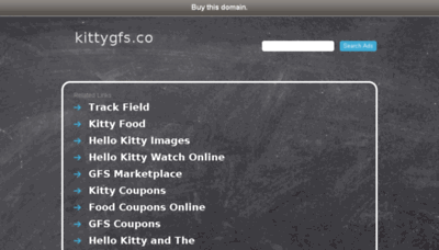 What Kittygfs.co website looked like in 2017 (4 years ago)