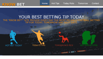 What Know.bet website looked like in 2018 (3 years ago)