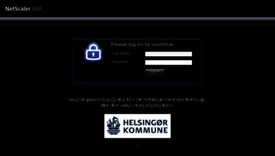 What Kilden.helsingor.dk website looked like in 2018 (3 years ago)