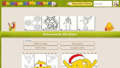 What Kolorowankimalowanki.pl website looked like in 2018 (2 years ago)