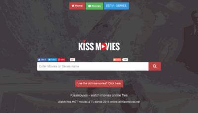What Kissmovies.net website looked like in 2019 (2 years ago)