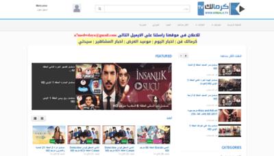 What Krmalk.tv website looked like in 2019 (2 years ago)