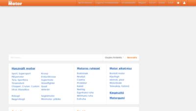 What Kepesmotor.hu website looked like in 2019 (2 years ago)