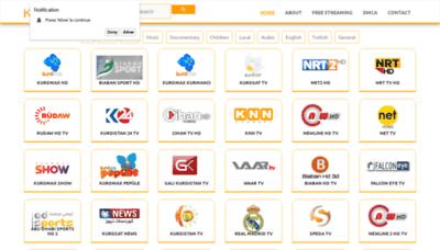 What Kurdtvs.net website looked like in 2019 (2 years ago)