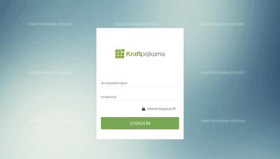 What Kraftpojkarna.workcloud.se website looked like in 2019 (1 year ago)