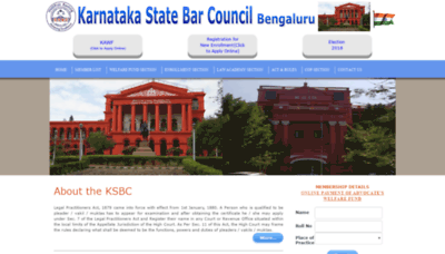 What Ksbc.org.in website looked like in 2020 (1 year ago)