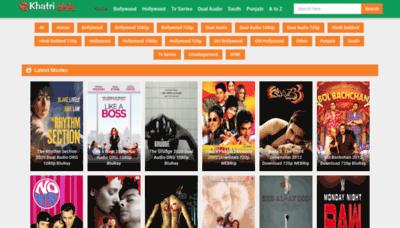 What Khatrimaza1.kim website looked like in 2020 (1 year ago)
