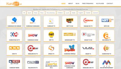 What Kurdtvs.net website looked like in 2020 (1 year ago)