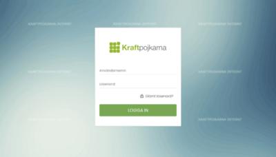 What Kraftpojkarna.workcloud.se website looked like in 2020 (This year)