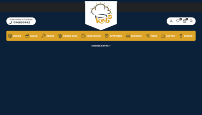 What Kebup.co.nz website looked like in 2020 (This year)