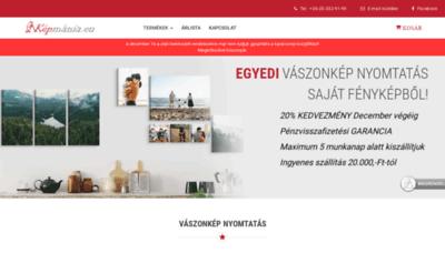 What Kepmania.eu website looks like in 2021