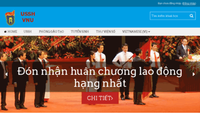 What Lms.ussh.edu.vn website looked like in 2016 (4 years ago)
