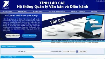 What Laocai.vnptioffice.vn website looked like in 2017 (3 years ago)