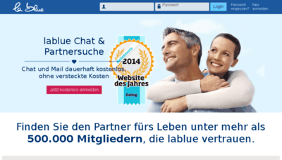 What Lablue.ch website looked like in 2018 (3 years ago)