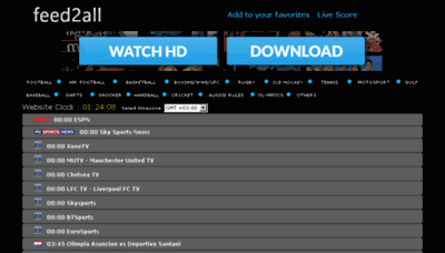 What Livefootballstream.net website looked like in 2018 (3 years ago)