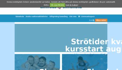 What Linneassimskola.se website looked like in 2018 (2 years ago)