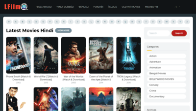 What Lfilm25.in website looked like in 2018 (2 years ago)