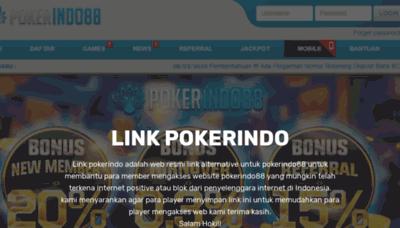 What Linkpokerin.xyz website looked like in 2019 (1 year ago)