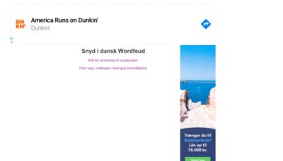 What Leet.dk website looked like in 2020 (1 year ago)