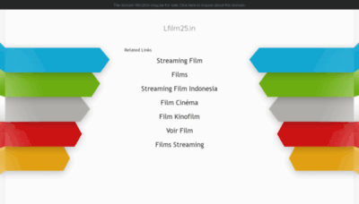 What Lfilm25.in website looked like in 2020 (1 year ago)
