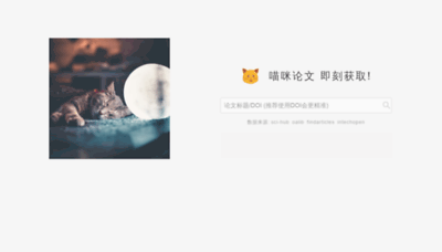What Lunwen.im website looked like in 2020 (1 year ago)