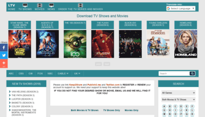 What Loadtv.biz website looked like in 2020 (1 year ago)