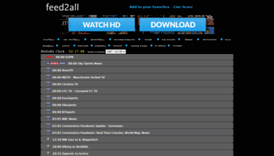 What Livefootballstream.net website looked like in 2020 (1 year ago)