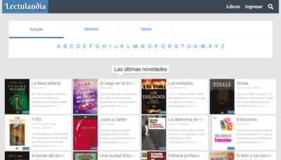 What Lectulandia.cc website looked like in 2020 (1 year ago)