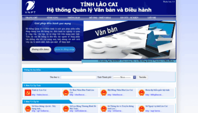 What Laocai.vnptioffice.vn website looked like in 2020 (1 year ago)
