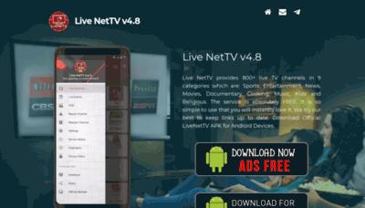 What Livenettv.xyz website looks like in 2021