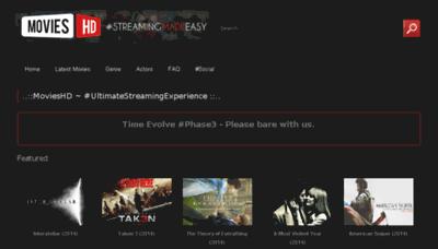 What Movieshd.eu website looked like in 2015 (6 years ago)