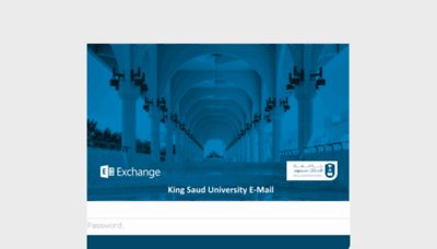 What Mail.ksu.edu.sa website looked like in 2017 (4 years ago)