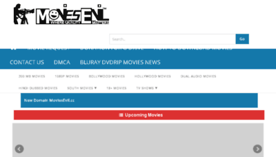 What Moviesevil.cc website looked like in 2017 (3 years ago)