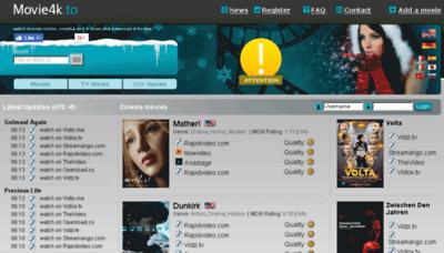 What Movie2k.cm website looked like in 2017 (3 years ago)