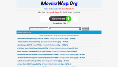 What Moviezwaphd.pw website looked like in 2018 (3 years ago)