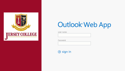What Mail.jerseycollege.edu website looked like in 2018 (3 years ago)