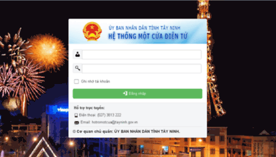 What Motcua.tayninh.gov.vn website looked like in 2018 (3 years ago)