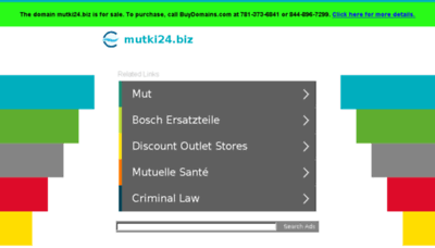 What Mutki24.biz website looked like in 2018 (3 years ago)