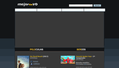 What Mejorenvo.net website looked like in 2018 (2 years ago)