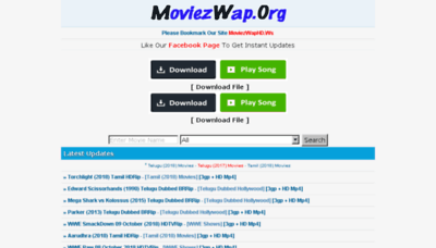 What Moviezwaphd.ws website looked like in 2018 (3 years ago)