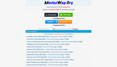 What Moviezwaphd.pw website looked like in 2018 (2 years ago)