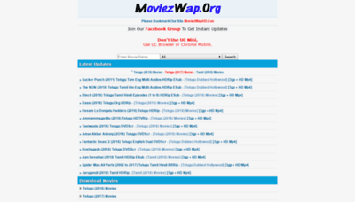What Moviezwaphd.info website looked like in 2018 (2 years ago)